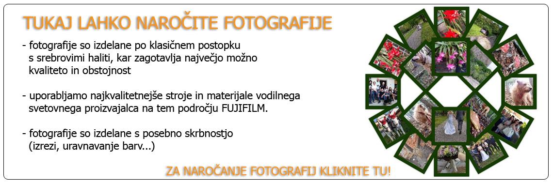 Naročanje fotografij